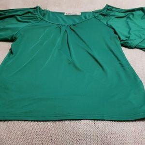 Pretty green blouse